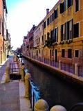 Откройте город Венеции, Италию Увлекательность, уникальность и волшеб стоковое изображение