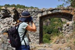 Откройте город пещеры Khndzoresk в Армении стоковое фото