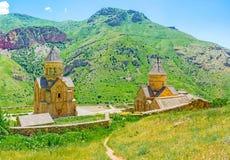 Откройте монастырь Noravank стоковые изображения