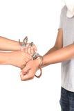 Откройте наручники стоковые фотографии rf