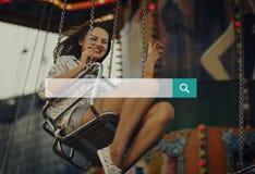 Откройте соединение исследования ища находящ концепция стоковые фотографии rf