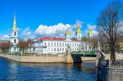 Откройте Semimostye в Санкт-Петербурге стоковые изображения rf