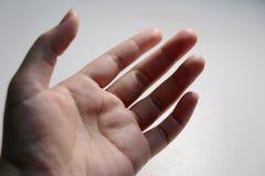 Открытая возможность дара и предложения руки Стоковое фото RF