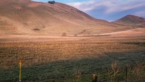 Открытая местность сухая от засухи стоковые фотографии rf