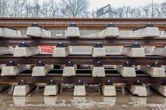 Открытая трамвайная линия Стоковое Фото