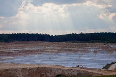 Открытая шахта Стоковое Фото