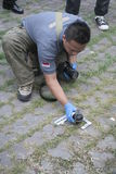 Открытие взрывчаток Стоковое Изображение RF