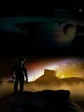 Открытие чужеземца Стоковые Изображения RF