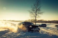 открытие Land Rover Стоковые Изображения