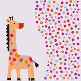 открытка детей Стоковые Фото