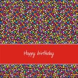 открытка дня рождения Стоковое Фото