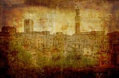 открытка Италии стоковые фотографии rf
