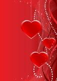 открытка любовников Стоковое фото RF