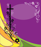 открытка пасхи Стоковые Изображения