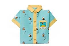 Открытка потехи в форме рубашек праздничных лета с misch стоковая фотография rf