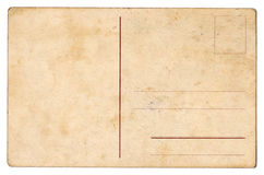 открытка предпосылки старая Стоковое Изображение