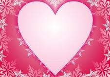 открытка рамки розовая Стоковые Фото