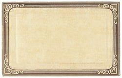 открытка рамки старая Стоковые Фото