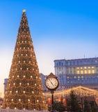 Открытка рождества вертикальная от Бухареста Стоковые Фото