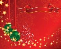 открытка рождества иллюстрация штока