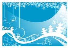 открытка рождества Стоковые Изображения