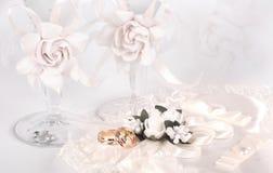 Открытка свадьбы Стоковая Фотография RF