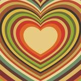 открытка сердец Стоковая Фотография RF