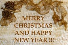 """Открытка """"веселое рождество и счастливый Новый Год """"рождества вокруг круга рождества детей карточки станцуйте снеговик приветстви иллюстрация вектора"""