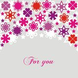 открытка Стоковая Фотография RF