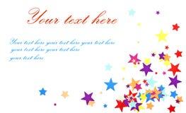 открытка Стоковое Изображение RF