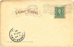 открытка 1904 Стоковое Изображение