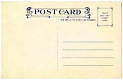 открытка 1911 Стоковые Изображения RF