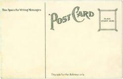 открытка 1917 Стоковое Фото