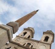 открытка rome Стоковое Изображение