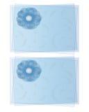 открытки цветка завуалировали Стоковое Фото