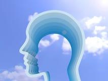 открытое воображения принципиальной схемы запомненное человеком бесплатная иллюстрация