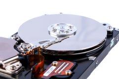 Открытое жёсткого диска изолированное на белой предпосылке Стоковое Изображение RF