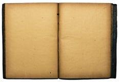 открытое изолированное книгой Стоковые Изображения RF
