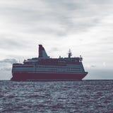 открытое море вкладыша круиза Стоковое Изображение RF