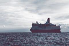 открытое море вкладыша круиза Стоковая Фотография RF