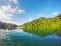 открытое море & голубое небо Стоковые Фотографии RF