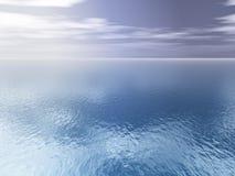 открытое море предпосылки Стоковая Фотография