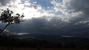 открытое небо Стоковая Фотография