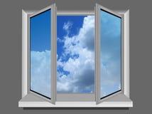 открытое окно Стоковые Фотографии RF