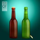 Открытозамкнутая бутылка Стоковое Изображение