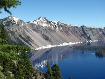 Открытые моря национальный парк озера кратер - озера кратер, Орегон стоковые фото