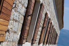 открытые окна Стоковые Фото