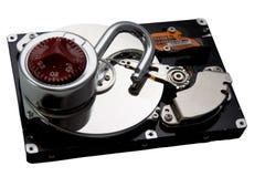Открытый жесткий диск стоковые фото
