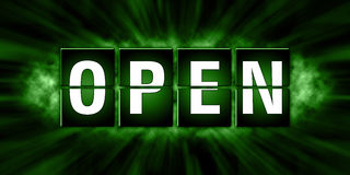 Открытый дизайн бирок - иллюстрация Стоковое Изображение