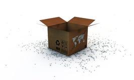 Открытый картон открытый бесплатная иллюстрация